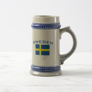 Flag of Sweden Beer Steins