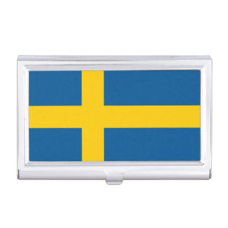 Flag of Sweden Business Card Holder