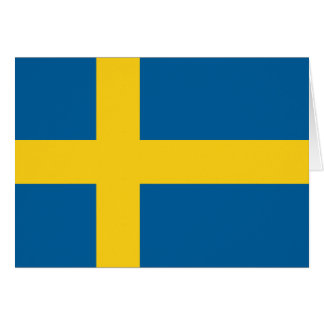 Flag of Sweden Card