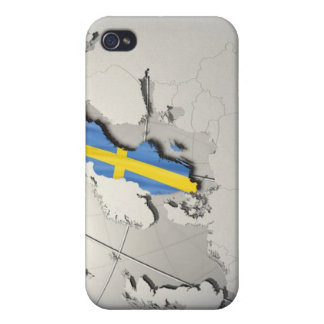 Flag of Sweden Case For The iPhone 4