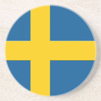 Flag of Sweden Coaster