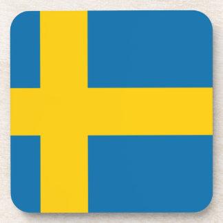 Flag of Sweden Drink Coaster