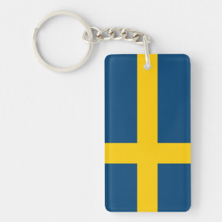 Flag of Sweden Key Ring