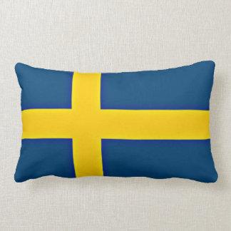 Flag of Sweden Lumbar Pillow