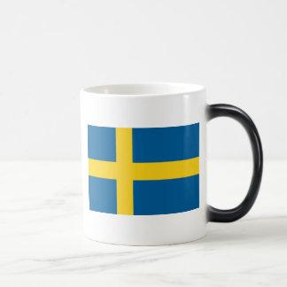 Flag of Sweden Morphing Mug