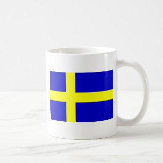Flag of Sweden Coffee Mugs