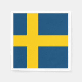 Flag of Sweden Paper Napkin