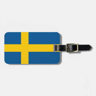 Flag of Sweden Personalized Luggage Tag