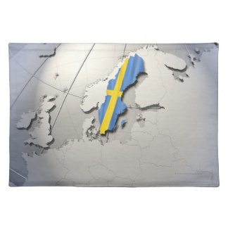 Flag of Sweden Placemat
