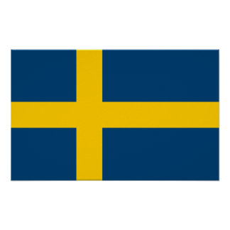 Flag of Sweden Poster