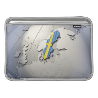 Flag of Sweden Sleeve For MacBook Air