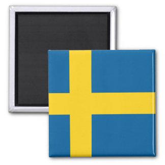 Flag of Sweden Square Magnet