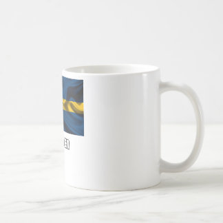 Flag of Sweden, Swedish Flag Coffee Mugs