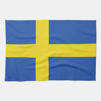 Flag of Sweden Tea Towel