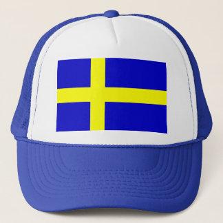 Flag of Sweden Trucker Hat