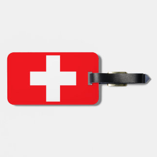 Flag of Switzerland Bag Tag
