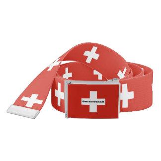 Flag of Switzerland Belt