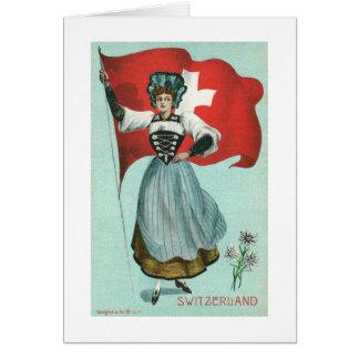 Flag of Switzerland Card