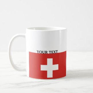 Flag of Switzerland Coffee Mug