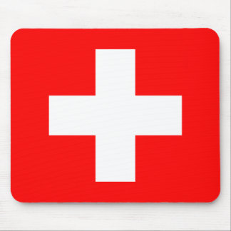 Flag of Switzerland Mouse Mat