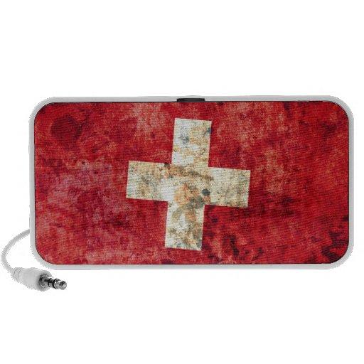 Flag of Switzerland Mp3 Speaker
