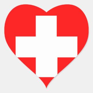 Flag of Switzerland Stickers