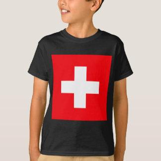 Flag of Switzerland T-shirts