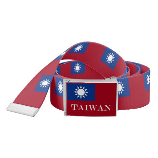 Flag of Taiwan Republic of China Belt