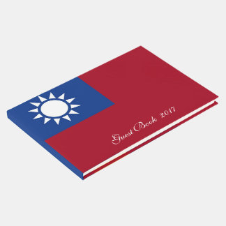 Flag of Taiwan Republic of China Guest Book
