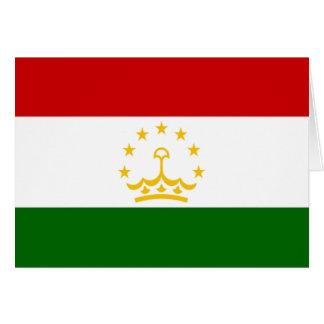 Flag of Tajikistan Cards