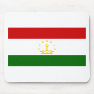 Flag of Tajikistan Mousepads