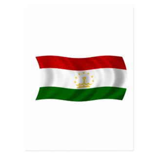 Flag of Tajikistan Postcards