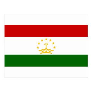 Flag_of_Tajikistan Postcard