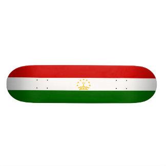 Flag of Tajikistan Skateboard Deck
