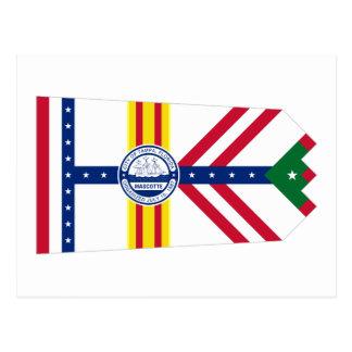 Flag of Tampa, Florida Postcard