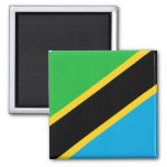 Flag of Tanzania Refrigerator Magnets