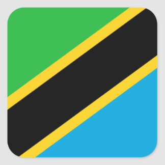 Flag of Tanzania Stickers