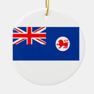 Flag of Tasmania Christmas Ornament