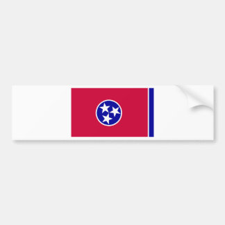 Flag of Tennessee Bumper Sticker
