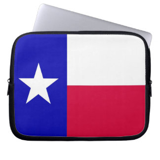 Flag of Texas Laptop Case Computer Sleeves