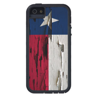 Flag of Texas Paint Peel Case For The iPhone 5