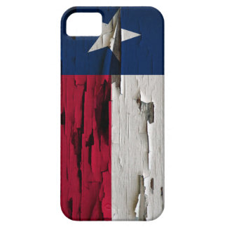 Flag of Texas Paint Peel iPhone 5 Cases