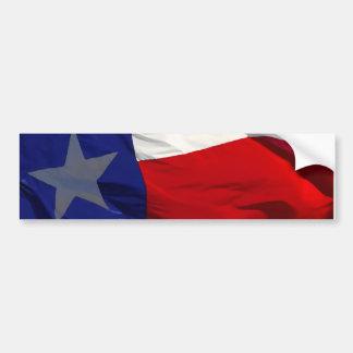 Flag of Texas Pop Art Bumper Sticker