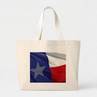 Flag of Texas Pop Art Jumbo Tote Bag