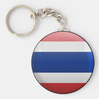 Flag of Thailand Key Ring