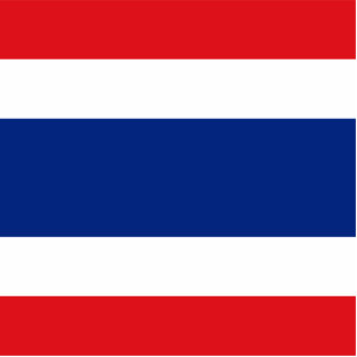 Flag of Thailand Standing Photo Sculpture