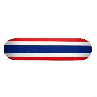 Flag of Thailand Custom Skateboard