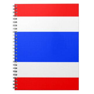 Flag of Thailand Spiral Notebook