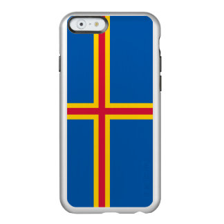 Flag of the Aland Islands Silver iPhone Case Incipio Feather® Shine iPhone 6 Case