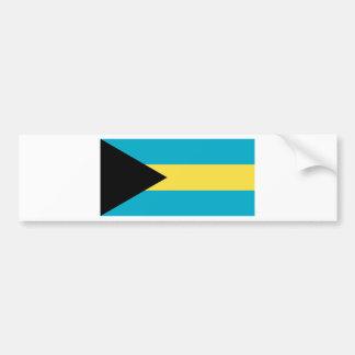 Flag of the Bahamas Bumper Sticker